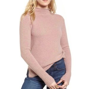 Madewell Inland Rolled Mock Neck Sweater NWT